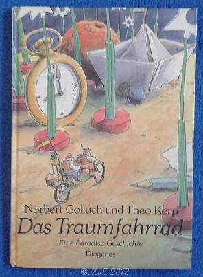 Bildtext: Das Traumfahrad von Golluch, Norbert Kerp, Theo